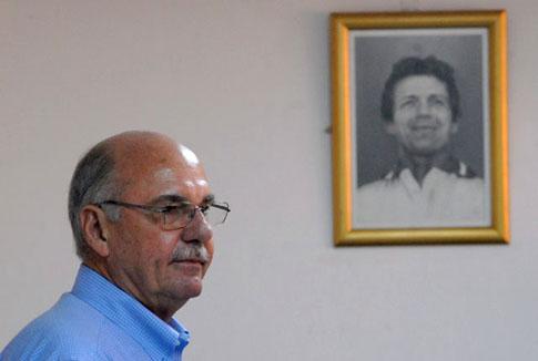 Alfredo Cristiani. Foto El Faro
