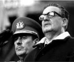 Salvador Allende y el General Prats.