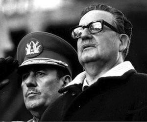 Salvador Allende y el General Prats