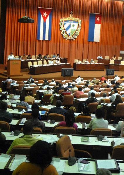 Discusión de la Comisión de Asuntos Constitucionales y Jurídicos, en el V Período Ordinario de Sesiones de la VII Legislatura de la Asamblea Nacional de Poder Popular, en el Palacio de las Convenciones, el 31 de julio de 2010. .AIN FOTO/Marcelino VAZQUEZ HERNANDEZ
