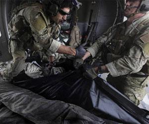 Baja de soldados noteramericanos en Afganistan