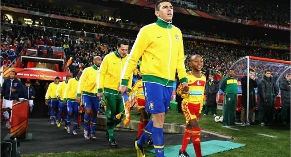 Brasil en la Copa Mundial de Fútbol, Sudáfrica 2010