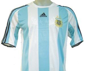 Camiseta de Fútbol de Argentina