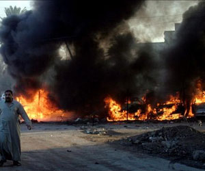 Bombardeos en Bagdad como protesta a permanencia estadounidense en el territorio