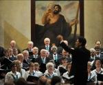 El coro de la Universidad de Yale. Foto: EFE