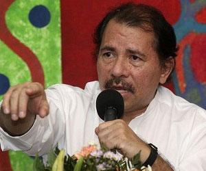 Daniel Ortega recibe a Crucero por la Paz