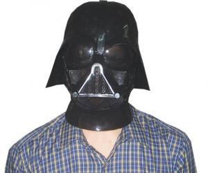 Máscara de DarthVader. Foto de archivo