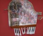 """Exposición """"Formato roto"""", de la Artista Plástica Diana Balboa, en el marco de la Fería Arte en la Rampa. Foto: Marianela Dufflar"""
