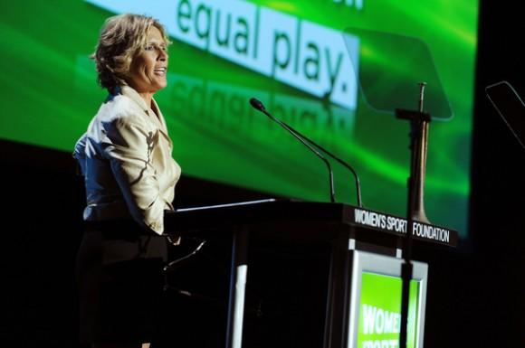 Diana Nyad en un acto en Nueva York, en octubre de 2009