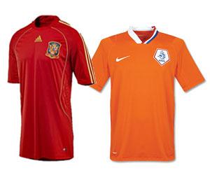 España vs Holanda, Final de la Copa Mundial de Fútbol, Sudáfrica 2010
