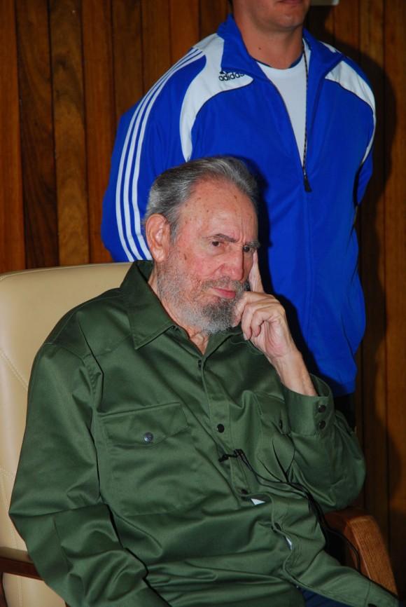 Fidel en Artemisa. Foto: Estudios Revolución