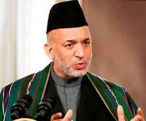 Rechaza Hamid Karzai acompañar a Obama en visita a tropas en Afganistán