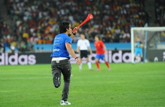 Espectador en Mundial de fútbol