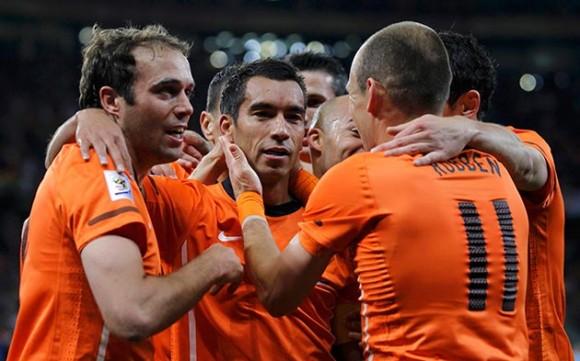 Holanda en la semifinal del Mundial de Fútbol