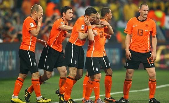 Holanda celebra el triunfo