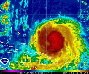 Temor en Republica Dominicana por el Huracan Michelle