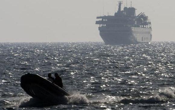 Israel intercepta barco