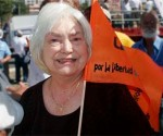 Lolita Lebrón, líder independentista de Puerto Rico. Foto de archivo