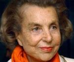 Liliane Bettencourt, la rica heredera de L'Oréal y tercera fortuna de Francia.