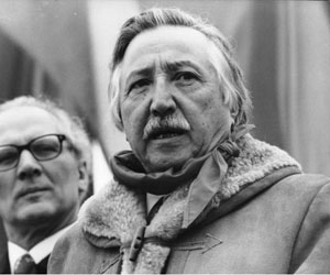 Luis Corvalán, destacado líder del Partido Comunista de Chile (PCCH)