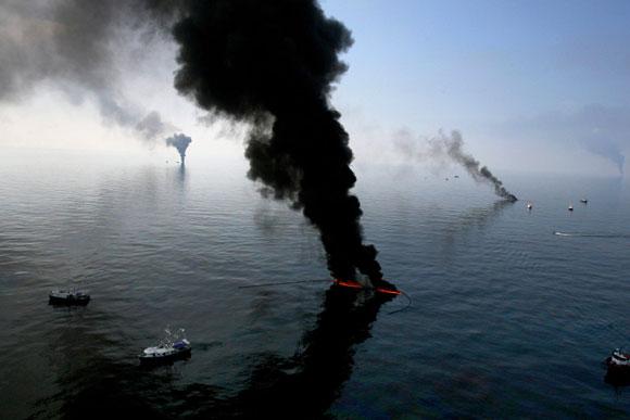 Nuevo derrame en el Golfo de México. Foto: Noticias 365