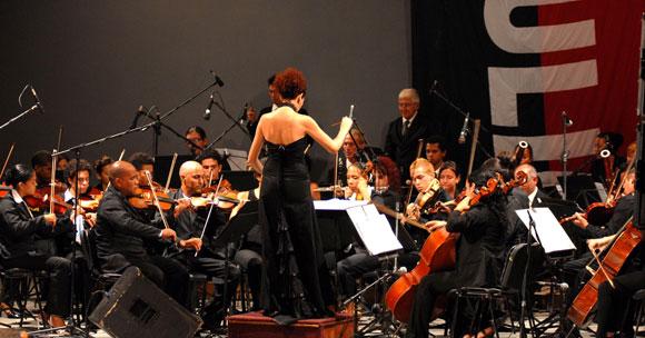 Orquesta Sinfónica Provincial de Villa Clara. AIN Foto: Arelys María ECHEVARRIA RODRIGUEZ