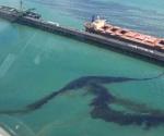 Escape de petróleo en el Golfo de México