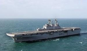 El portaviones Makin Island (Ojo, es sólo para combatir al narcotráfico, no piensen mal)