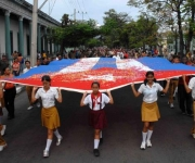 Santiago de Cuba. Homenaje a Frank País