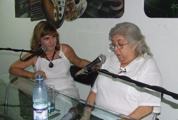 Sara González habla de la emoción que sintió al ver a Fidel. Foto: Marianela Dufflar