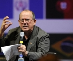 Silvio Rodríguez en Colombia. Foto: EFE