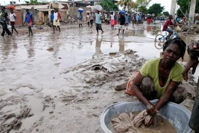 Tormenta en Haití.