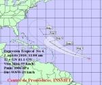 4ta Depresión Tropical