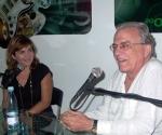 Antón Arrufat celebra su 75 cumpleaños. Foto: Marianela Dufflar