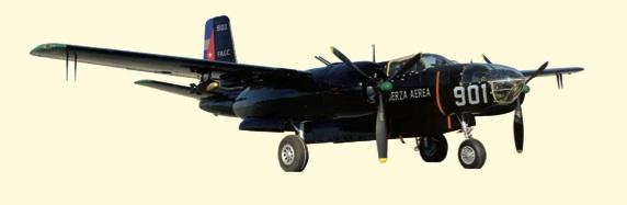 Bombardero Douglas B-26B/C Invader.