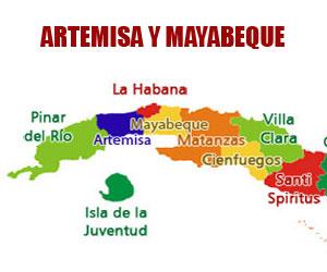 Cuba tiene dos nuevas provincias: Artemisa y Mayabeque. La capital del país pasa a llamarse La Habana