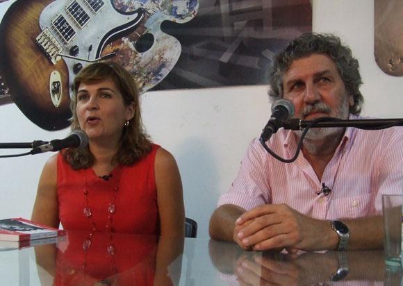 El artista de la plástica cubana, José Ramón Villa Soberón, protagonista del espacio Encuentro en la Feria Arte en la Rampa. Foto: Marianela Dufflar