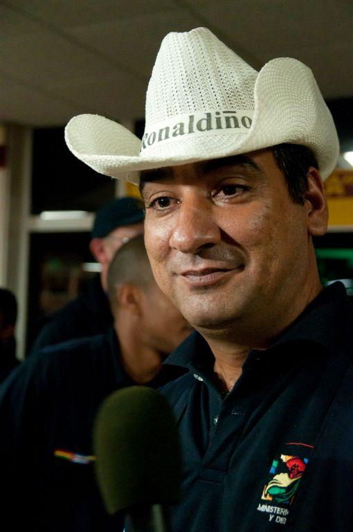 """Brigadista de la """"Moto Méndez"""". Foto: Roberto Chile"""