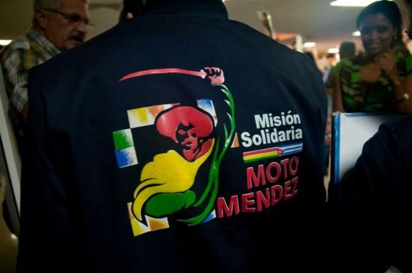 "Brigada ""Moto Méndez"". Foto: Roberto Chile"