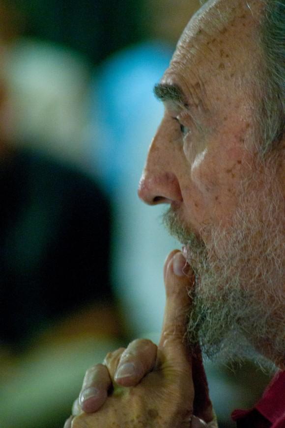 """Presentación del Libro de Fidel, """"La victoria estratégica"""". Foto: Roberto Chile"""