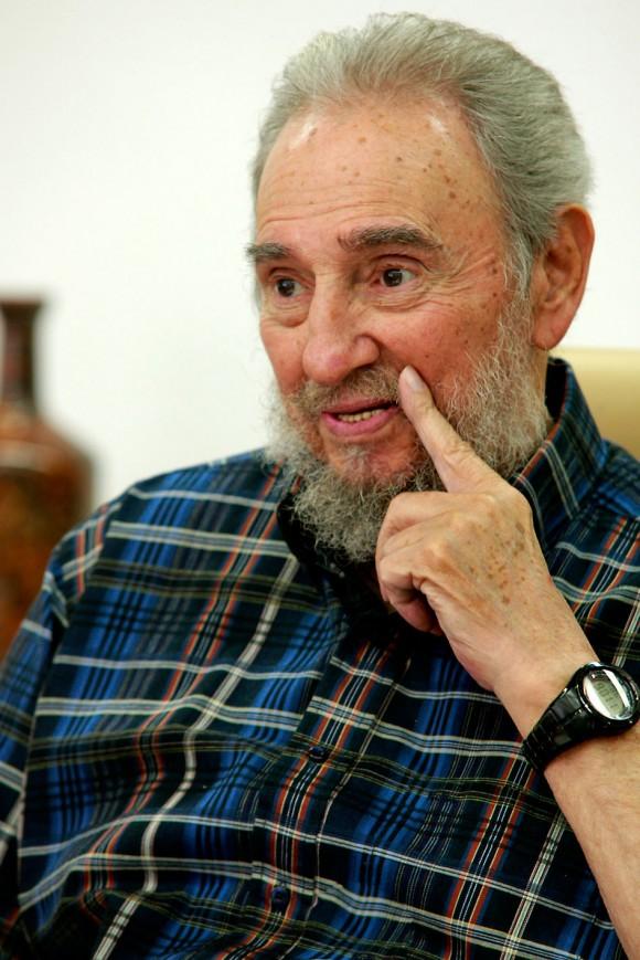 Fidel. Foto. Alex Castro