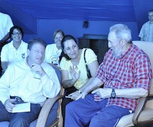 Visita Fidel nuevamente el Acuario Nacional