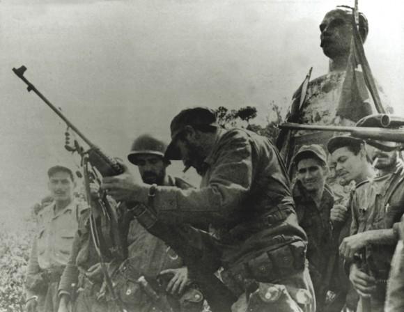 Fidel en el Turquino