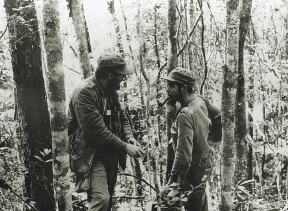 El Che y Fidel en la Sierra Maestra