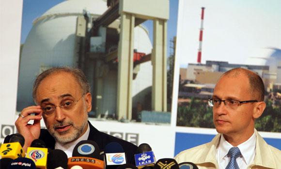 El vicepresidente de Irán y director del Organismo iraní de Energía Atómica, Ali Akbar Salehi, afirmó que Irán seguirá con el enriquecimiento de uranio al 20%