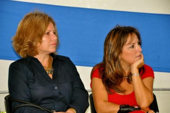 Isabel y Liuba. Foto: Petí