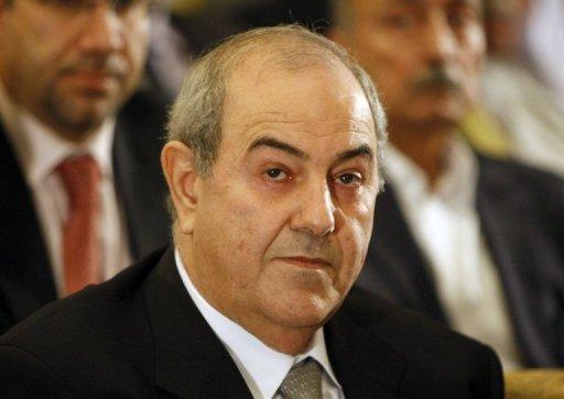 El ex premier  iraquí Iyad Allawi en Berlín