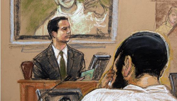 Juicio de un prisionero recluido en Guantánamo