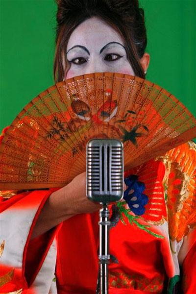 """Maria Hevia en el video clip """"Los Elefantes"""". Foto: Adis Venero / Equipo de Liuba Maria Hevia"""