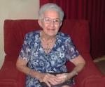 María Teresa Linares celebra sus 90 años. Foto: Marianela Dufflar